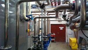 Cooling Water Pipe Work Install