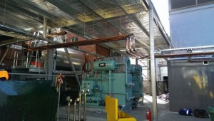 Waste Heat Steam Generator Install